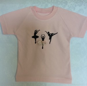 Tshirt with ballerinas